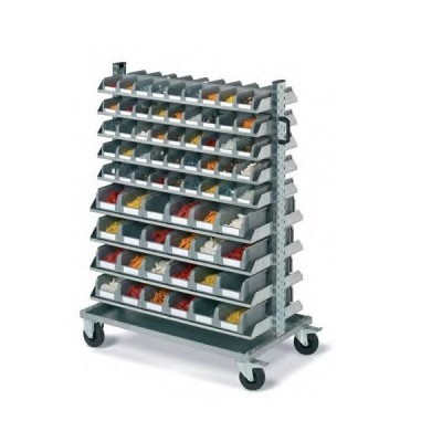 Portacontenitori con 138 contenitori Ideaone