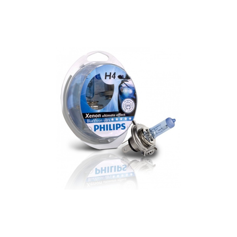 Kit lampadine Philips H4 12v Blue Vision ultra