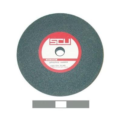 Mola a disco in elettrocorindone grigio 125x20 foro 16 grana fine