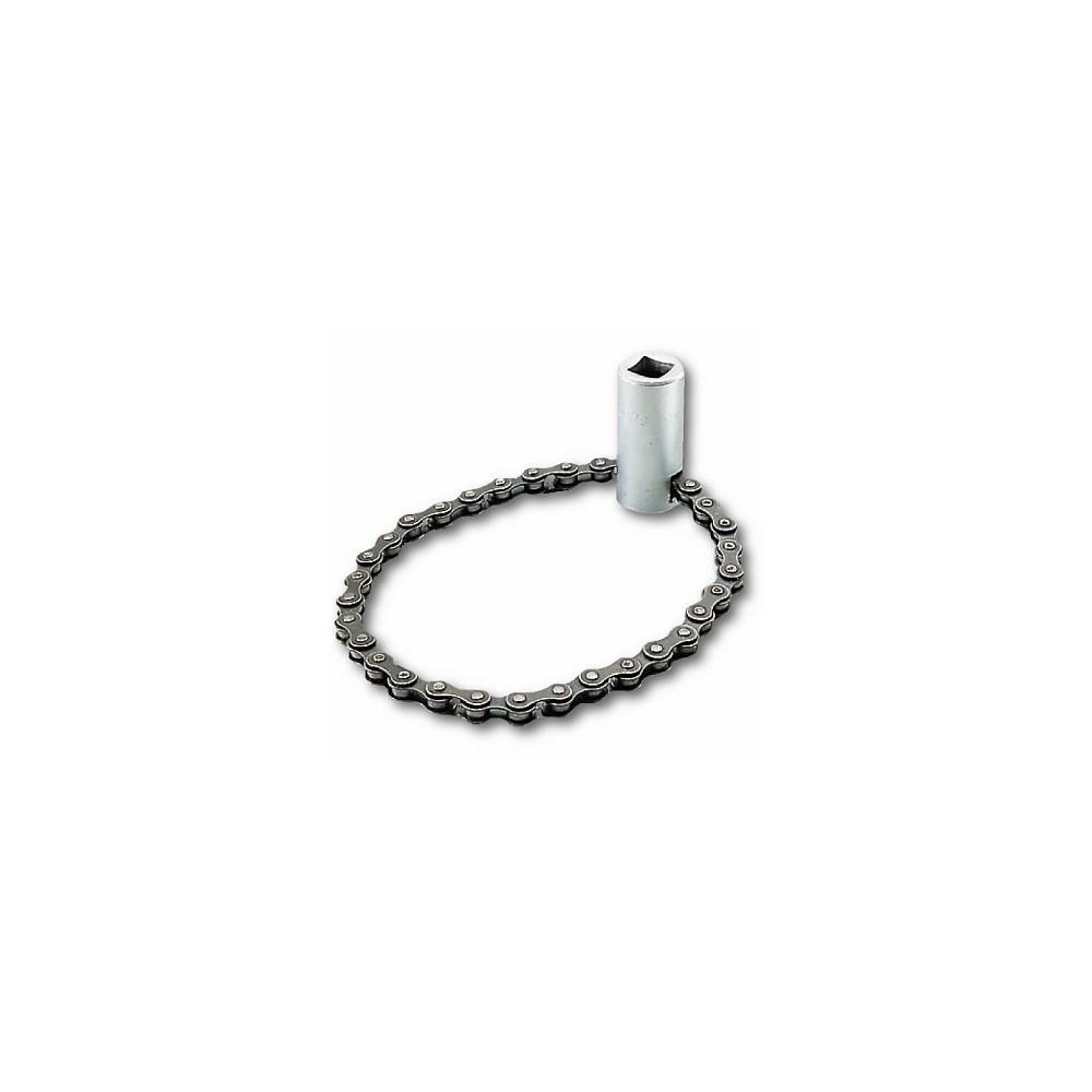 Chiave a catena per filtri olio (con bussola)