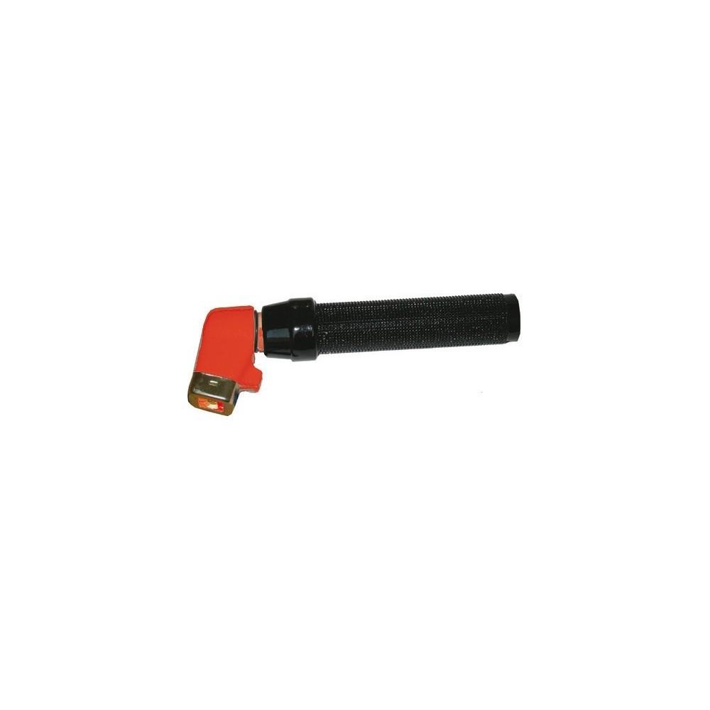 Pinza portaelettrodi tipo piegato con foro porta-elettrodi 200A