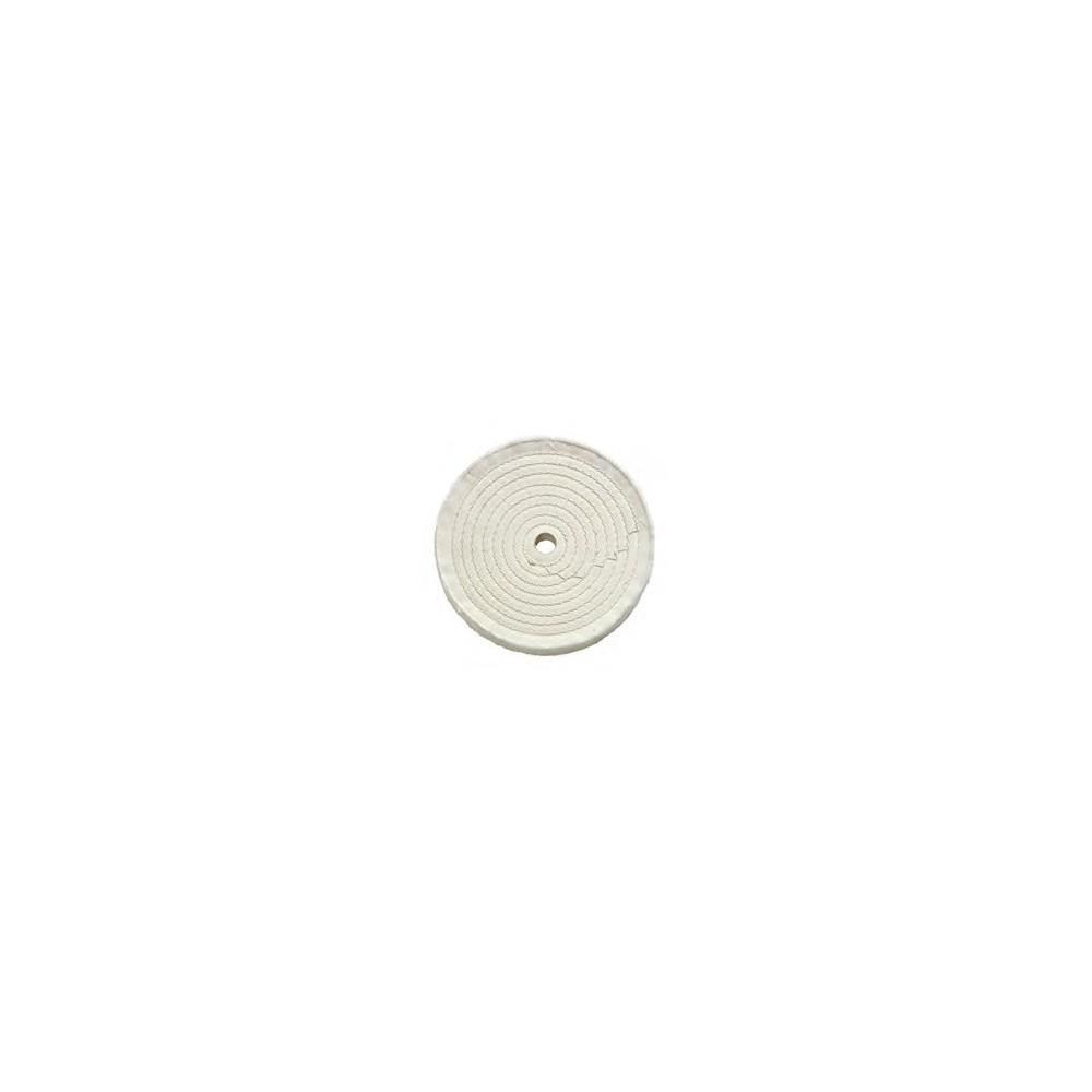 Disco in cotone per lucidatura metalli diam 150