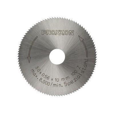 Lama circolare in acciaio speciale bonificato. Proxxon 28020