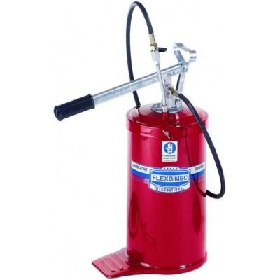 Pompa per grasso a barile da 16 kg completa di tubo flessibile 1/4