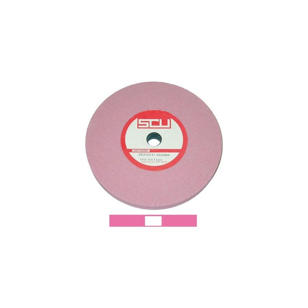 Mola a disco in elettrocorindone 100x16 foro 13 grana fine